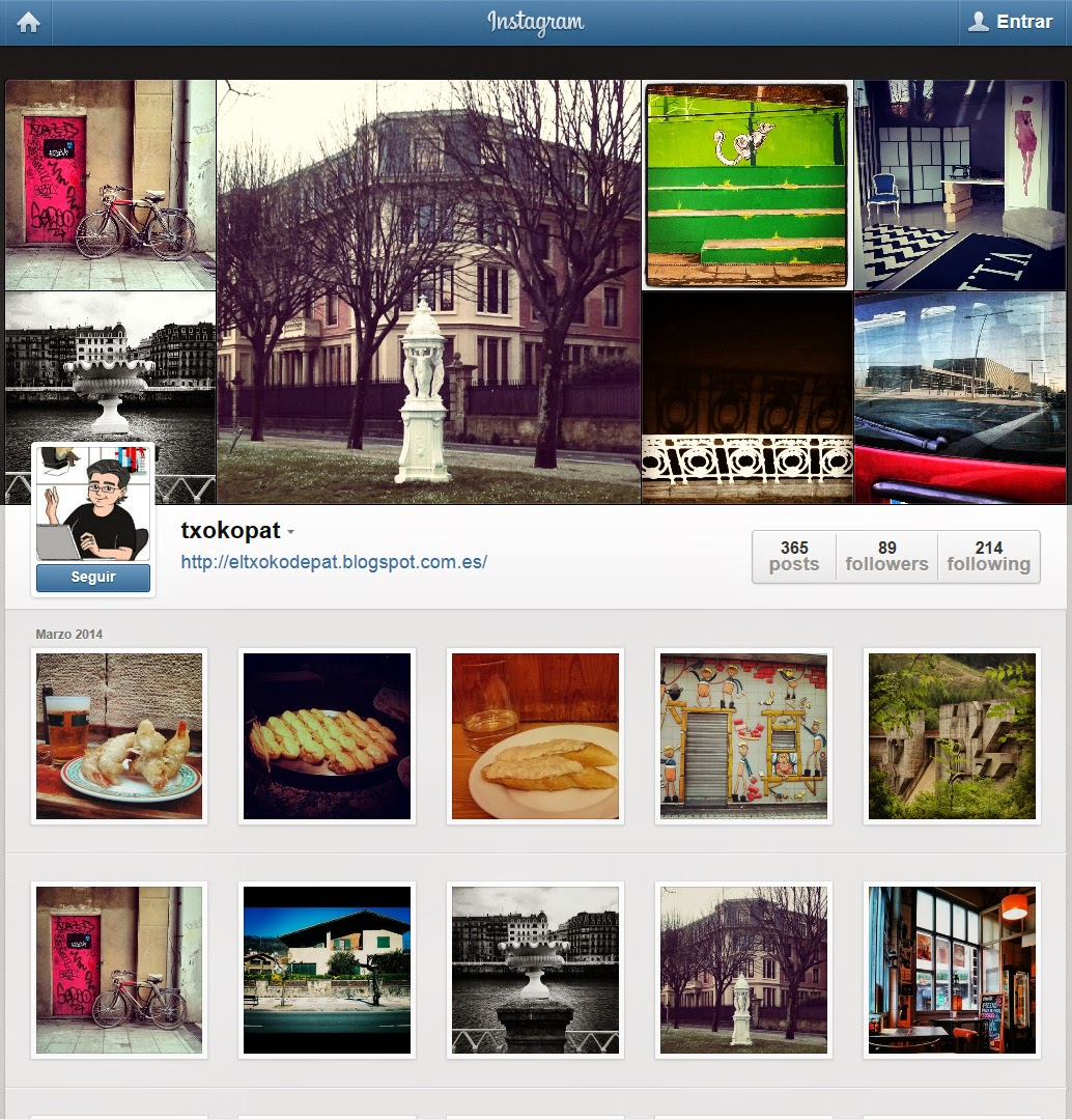 TXOKOPAT en Instagram