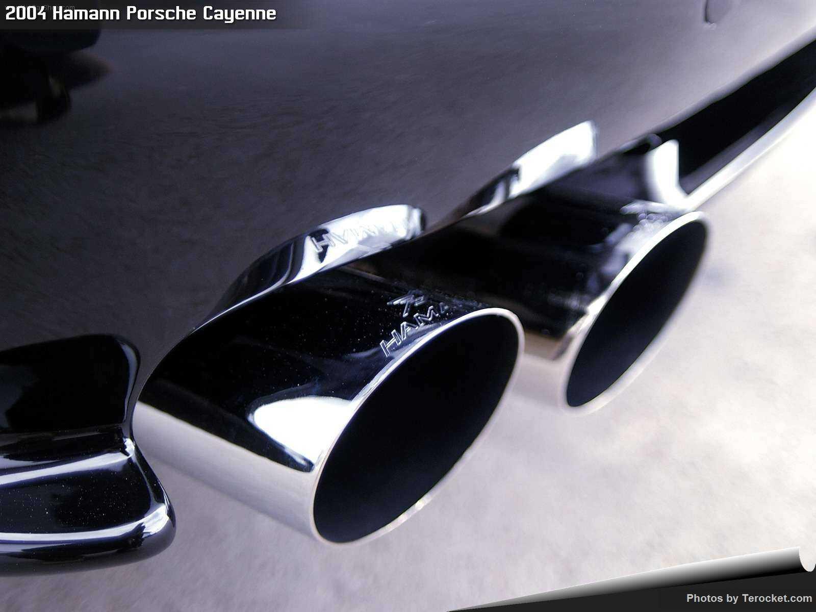 Hình ảnh xe ô tô Hamann Porsche Cayenne 2004 & nội ngoại thất