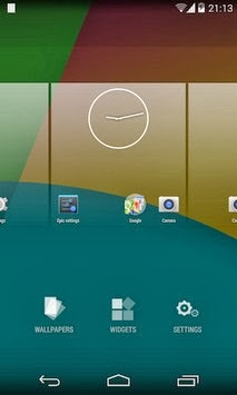 Epic Launcher (KitKat) android apk - Screenshoot