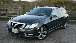 2011 Mercedes-Benz E350 4Matic Wagon Side View