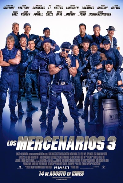 Los mercenarios 3 [2014] [BrRip] [1080p] [Latino-Ingles]