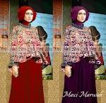 Gamis Marwah + Pashmina BX007 HABIS