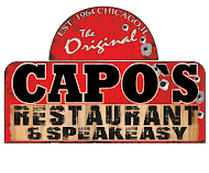 Capo's is the Original Speakeasy Mob Restaurant