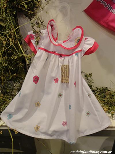 vestidos de moda primavera verano 2014 hui hui kids wear