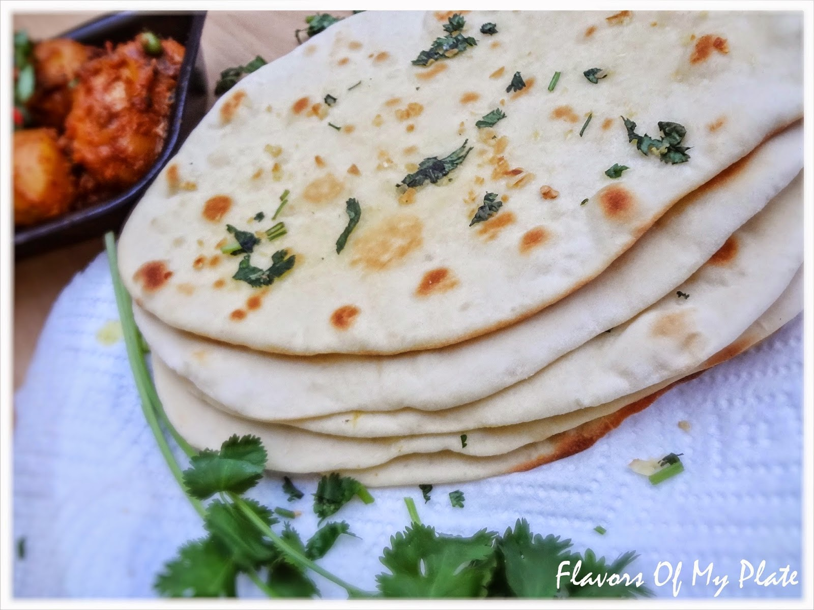 how to make yeast free naan bread
