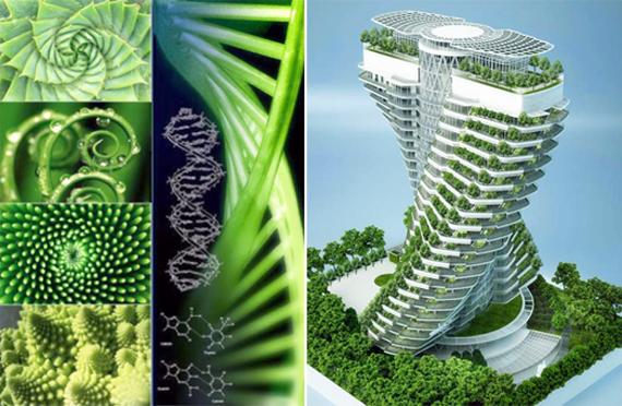 Futurix agora garden il giardino verticale a doppia elica for Architettura verde