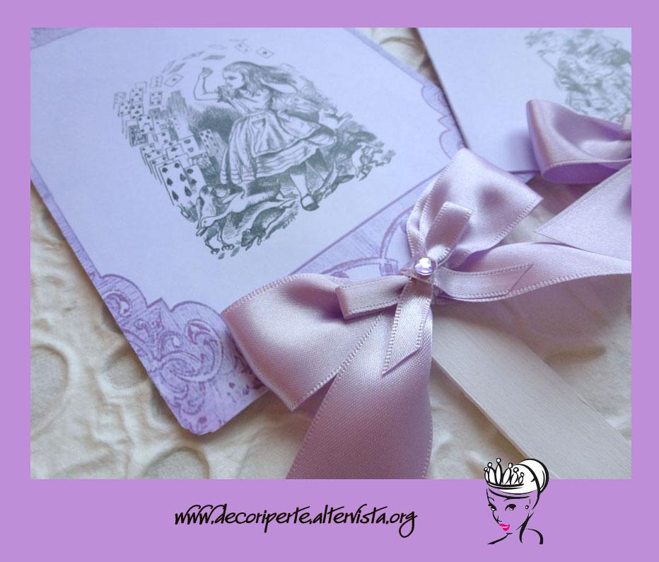 Matrimonio Tema Alice In Wonderland : Decori per te esclusivi e personalizzati