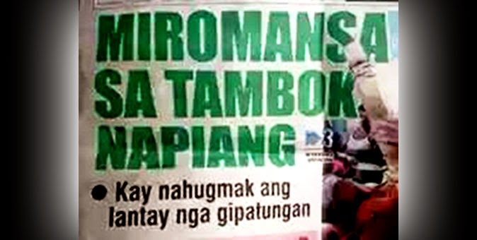 Image: SunStar Super Balita headline