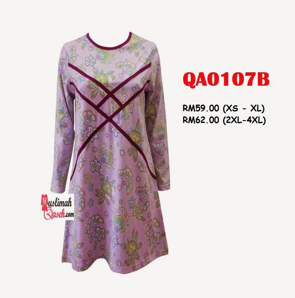 T-Shirt-Muslimah-Qaseh-QA0107B