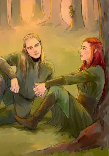 the-hobbit-legolas-tauriel-and-thranduil-spying