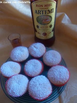 muffin al ron miel