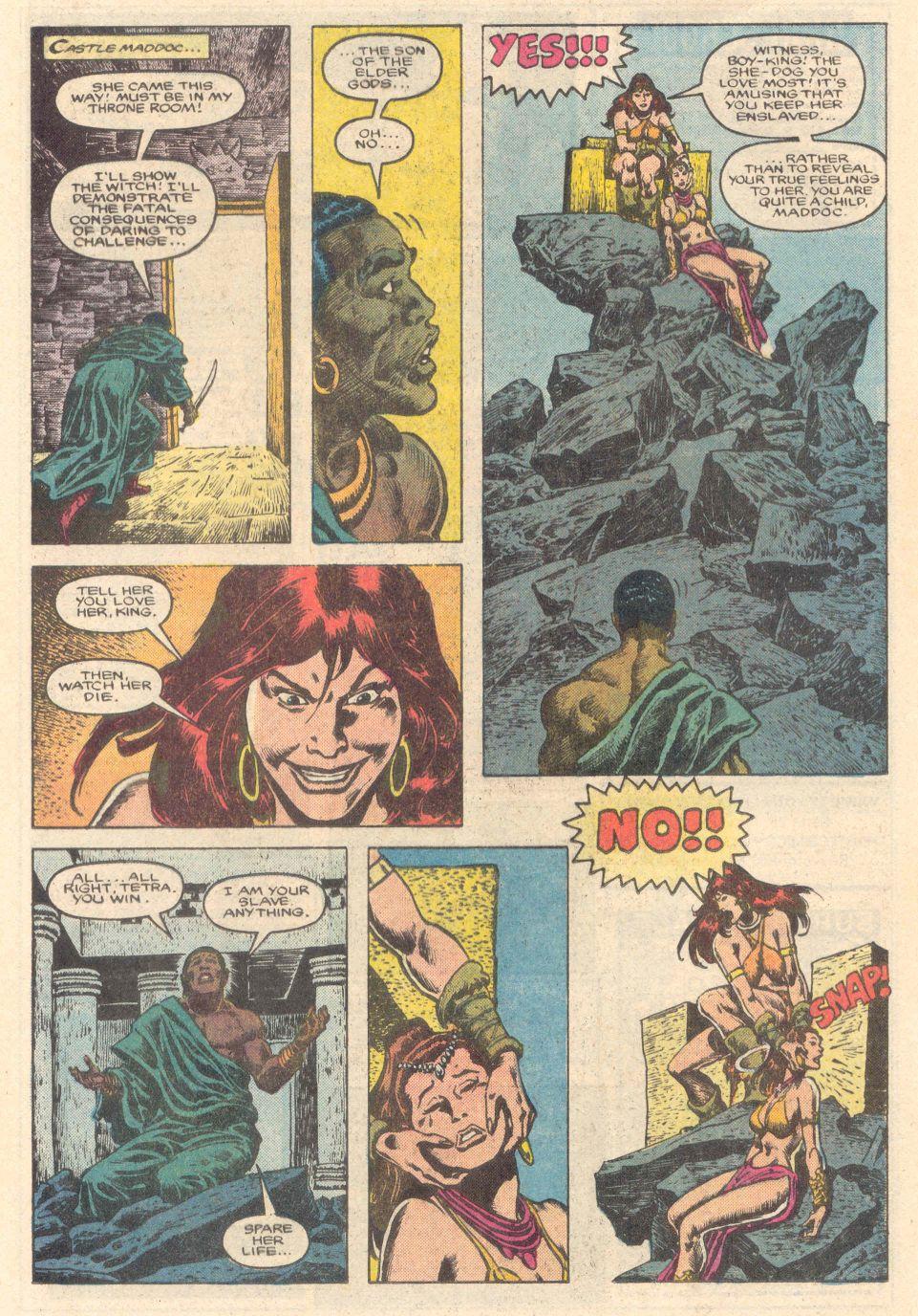 Conan the Barbarian (1970) Issue #183 #195 - English 18