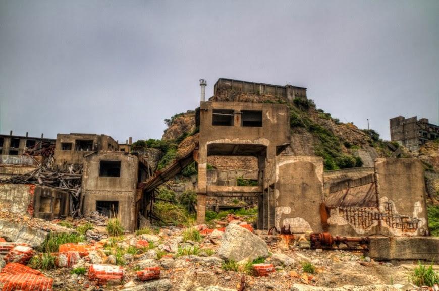 جزيرة هاشيما