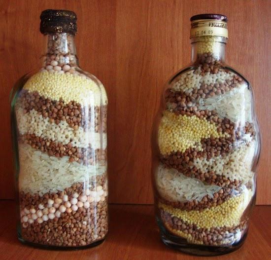 Бутылки с крупой своими руками мастер класс