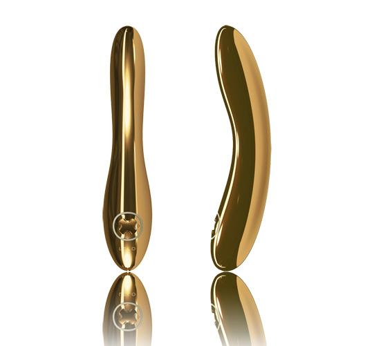victoria beckham gold plated vibrator