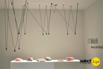 Chandelier Lamps by Vibia