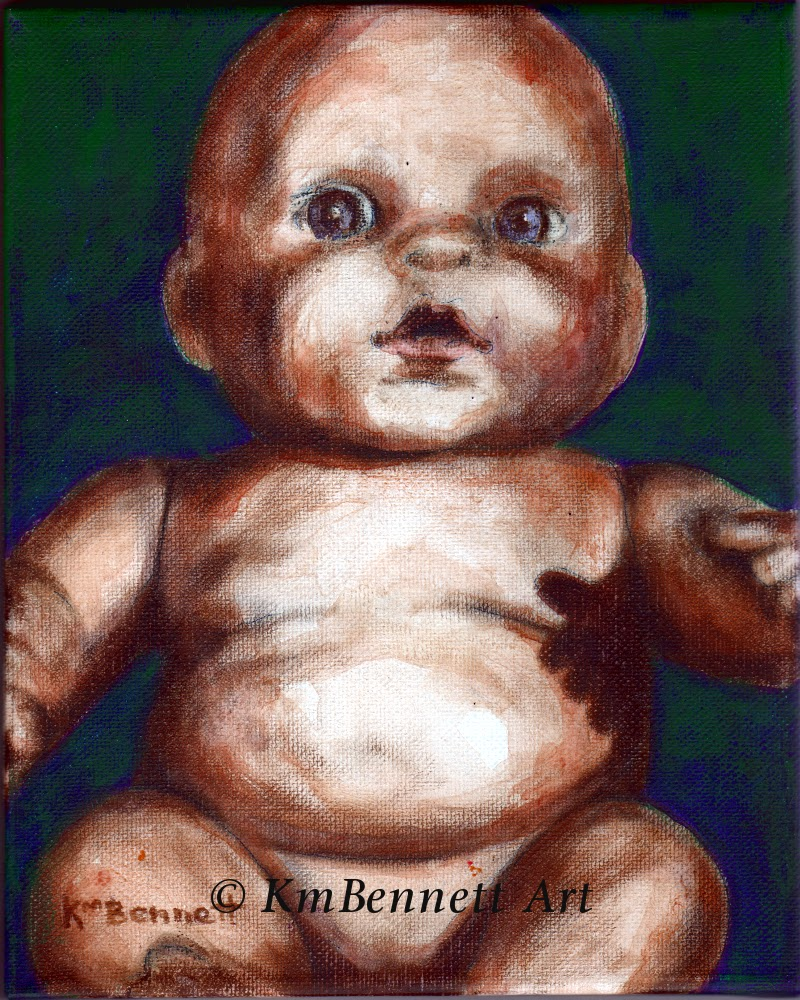 Painting: Baby Doll 03