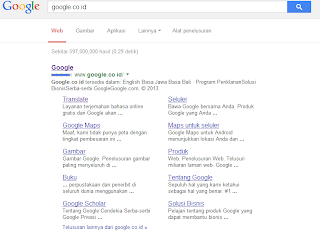 Akibat Serangan Google di Indonesia
