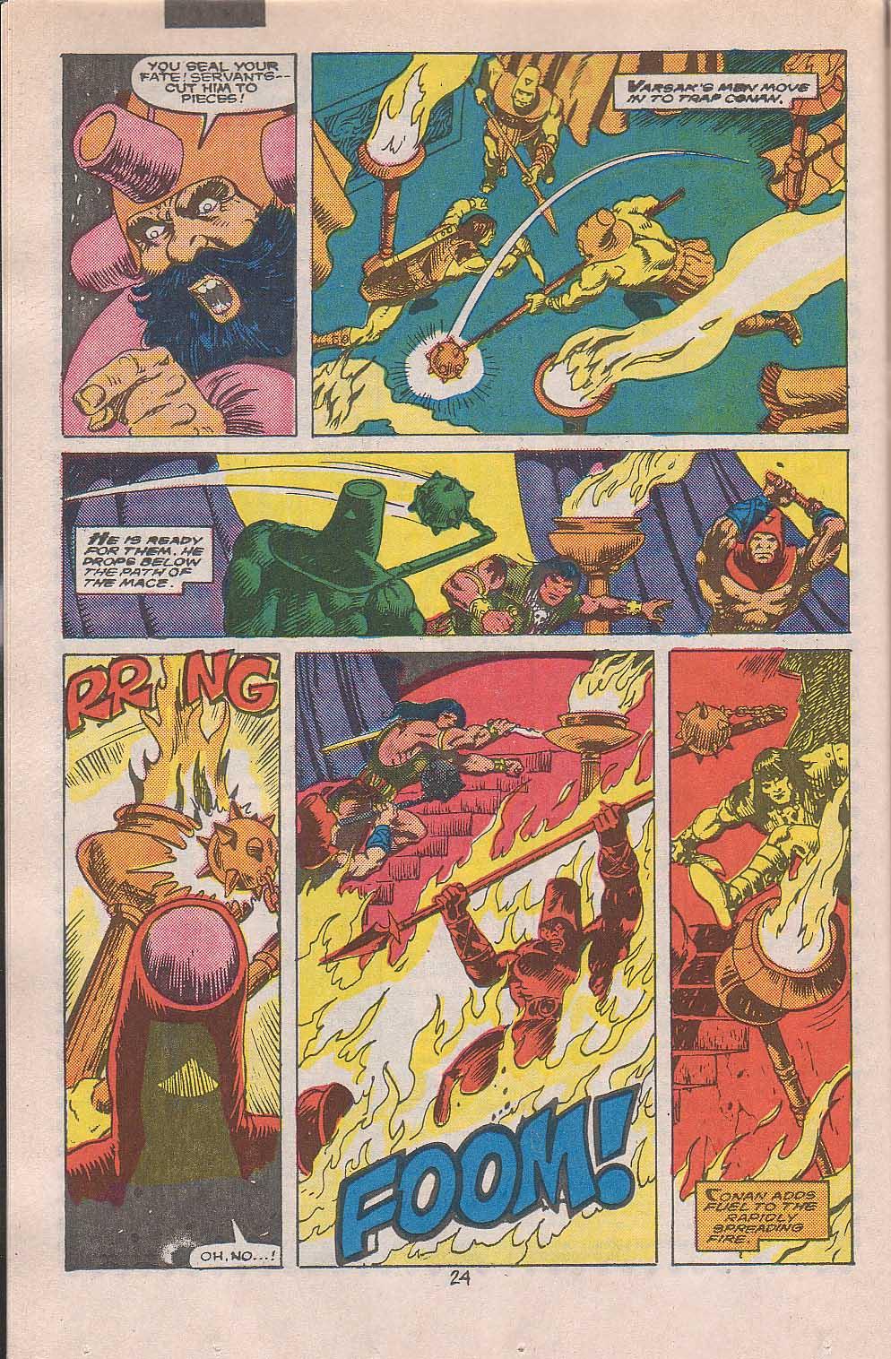 Conan the Barbarian (1970) Issue #216 #228 - English 19