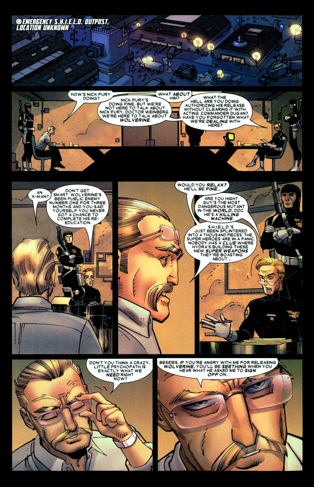 Read online Wolverine (2003) comic -  Issue #28 - 10
