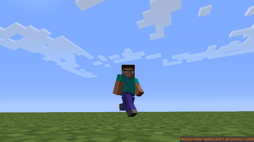 Baixar Mods do Minecraft: Animated Player Mod para Minecraft 1.7.2