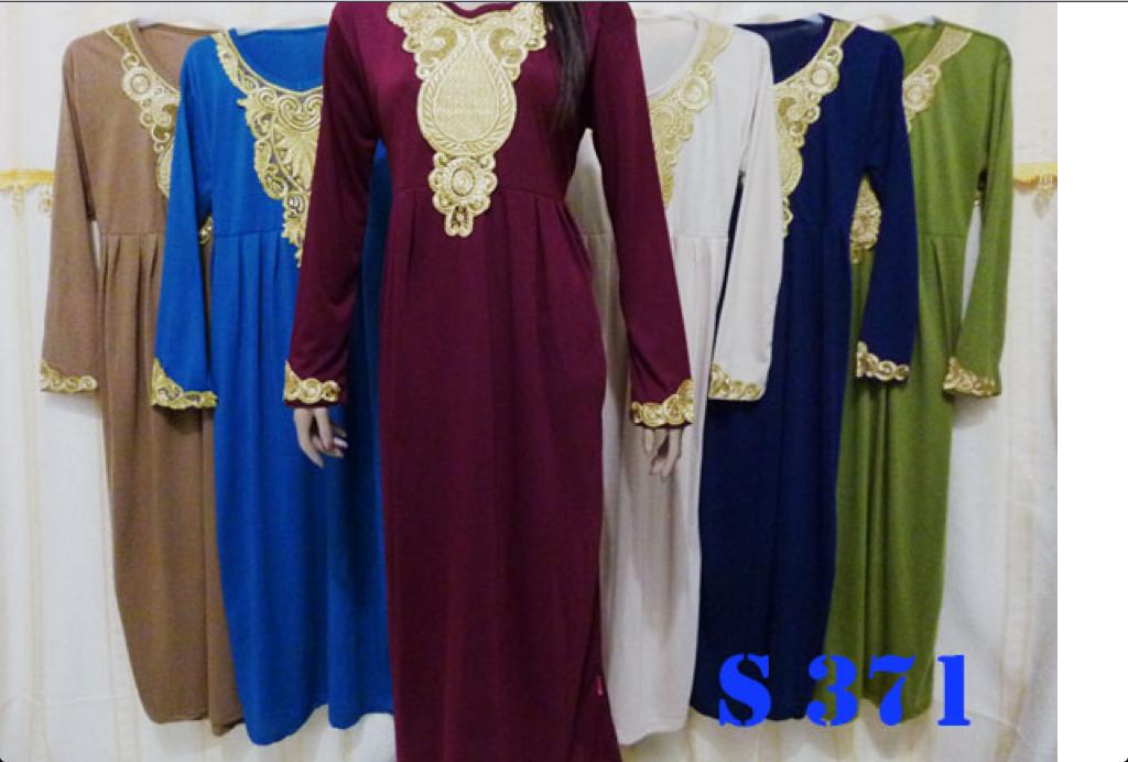 Baju Grosir Wanita Termurah Dress Panjang Gamis Moderen