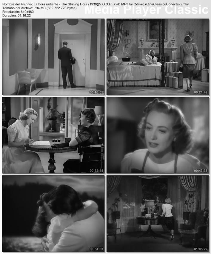Imagenes de la película: La hora radiante | 1938 | The shinning hour