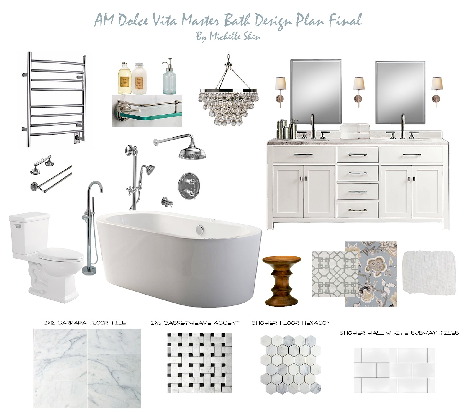 Am Dolce Vita: AM Dolce Vita: Master Bathroom Reveal