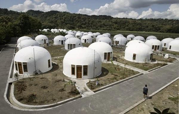 Những căn nhà mái vòm
