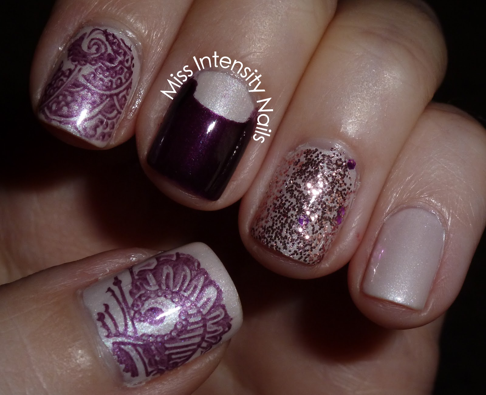 Miss Intensity Nails: Untried Polish Challenge