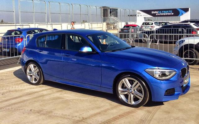 BMW 125iM 2014 Azul