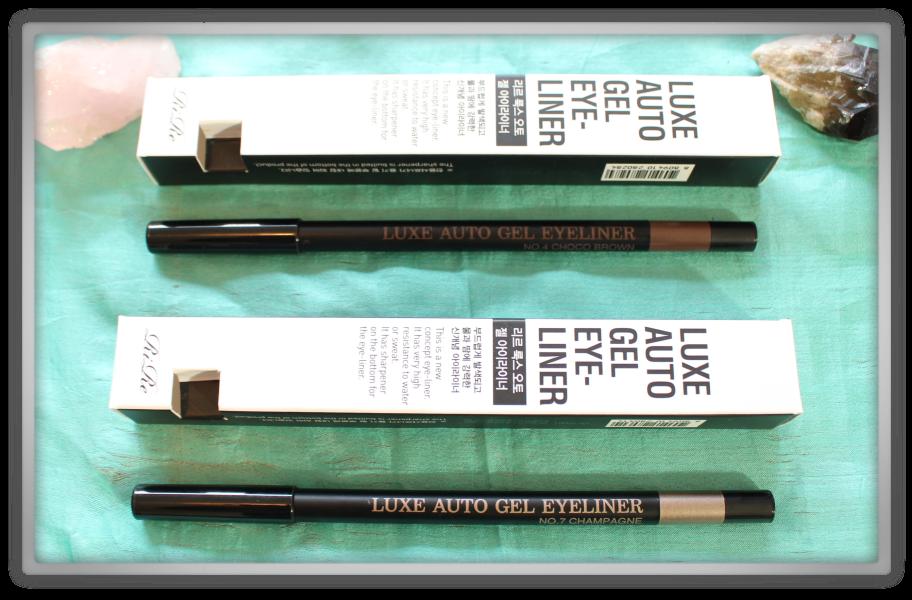 겟잇뷰티박스 by 미미박스 memebox beautybox # special #17 K-Style unboxing review preview box rire luxe auta gel eyeliner champagne choco brown
