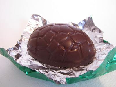 homemade chocolate easter egg