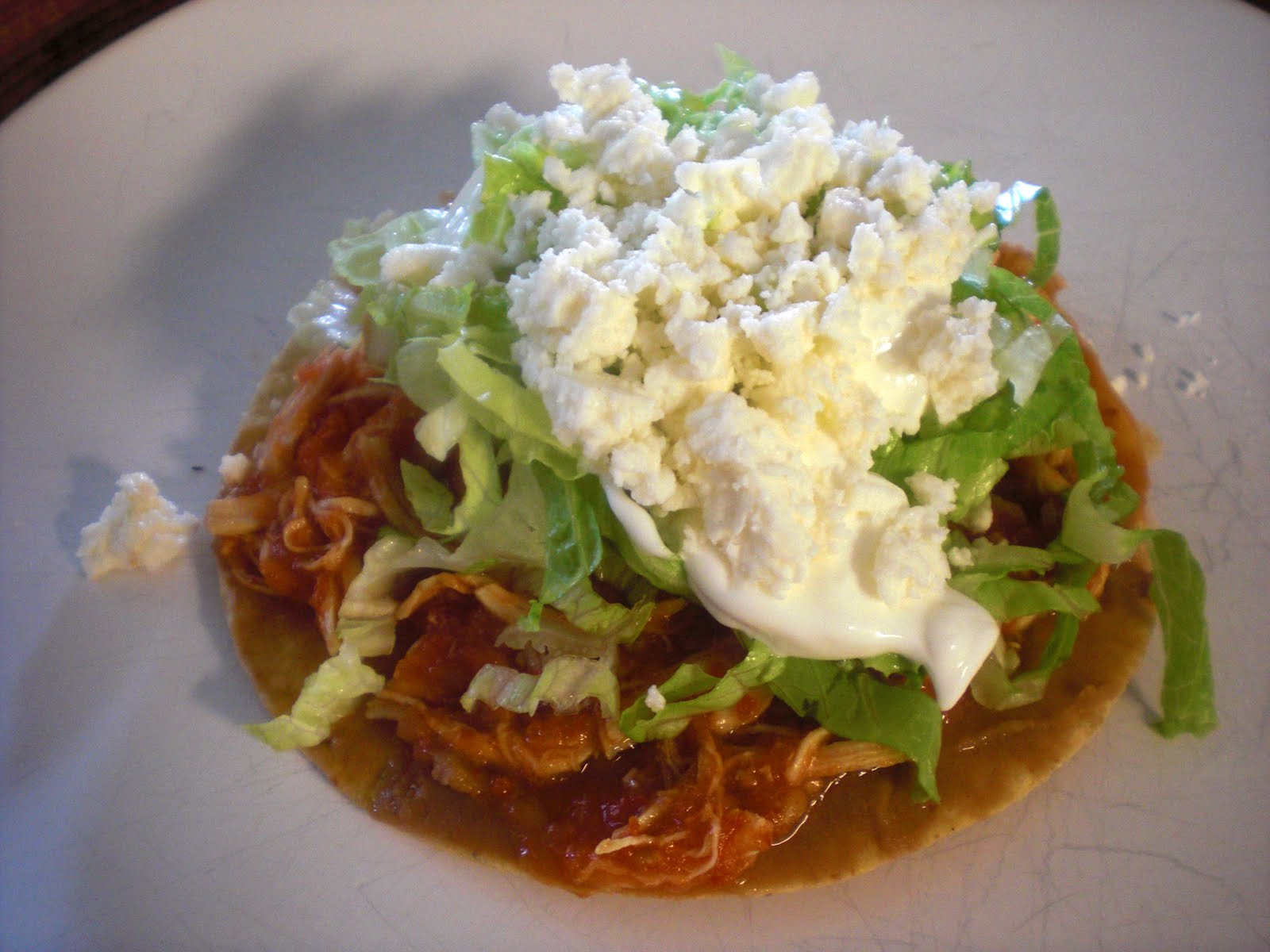 tostadas mexican tinga tostadas chicken tinga tostadas recipe i listed ...