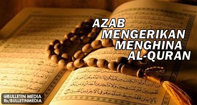 Azab mengerikan akibat menghina Al-Quran, lihat apa yang berlaku pada vagina wanita ini