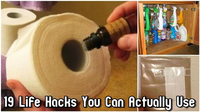 19 Life Hacks You Can Actually Use