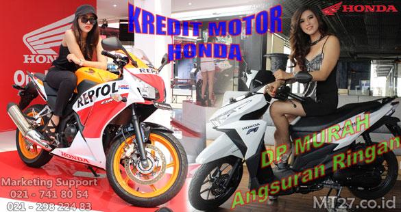 Kredit Motor Honda DP Murah Jakarta