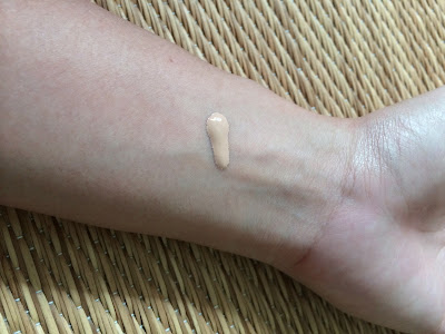 Japanese BB cream swatch