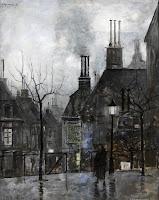 RAMON DE CAPMANY La rue Lepique, Paris 1920