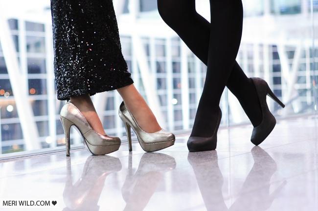Meri Wild szpilki fleq high heels