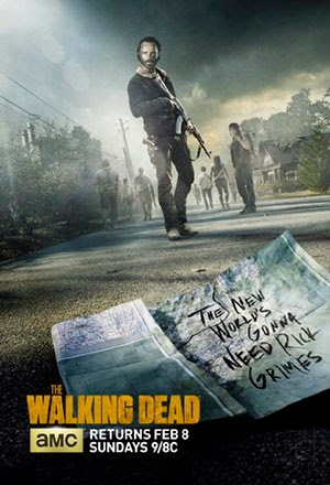 Poster The Walking Dead Season 5 2010-