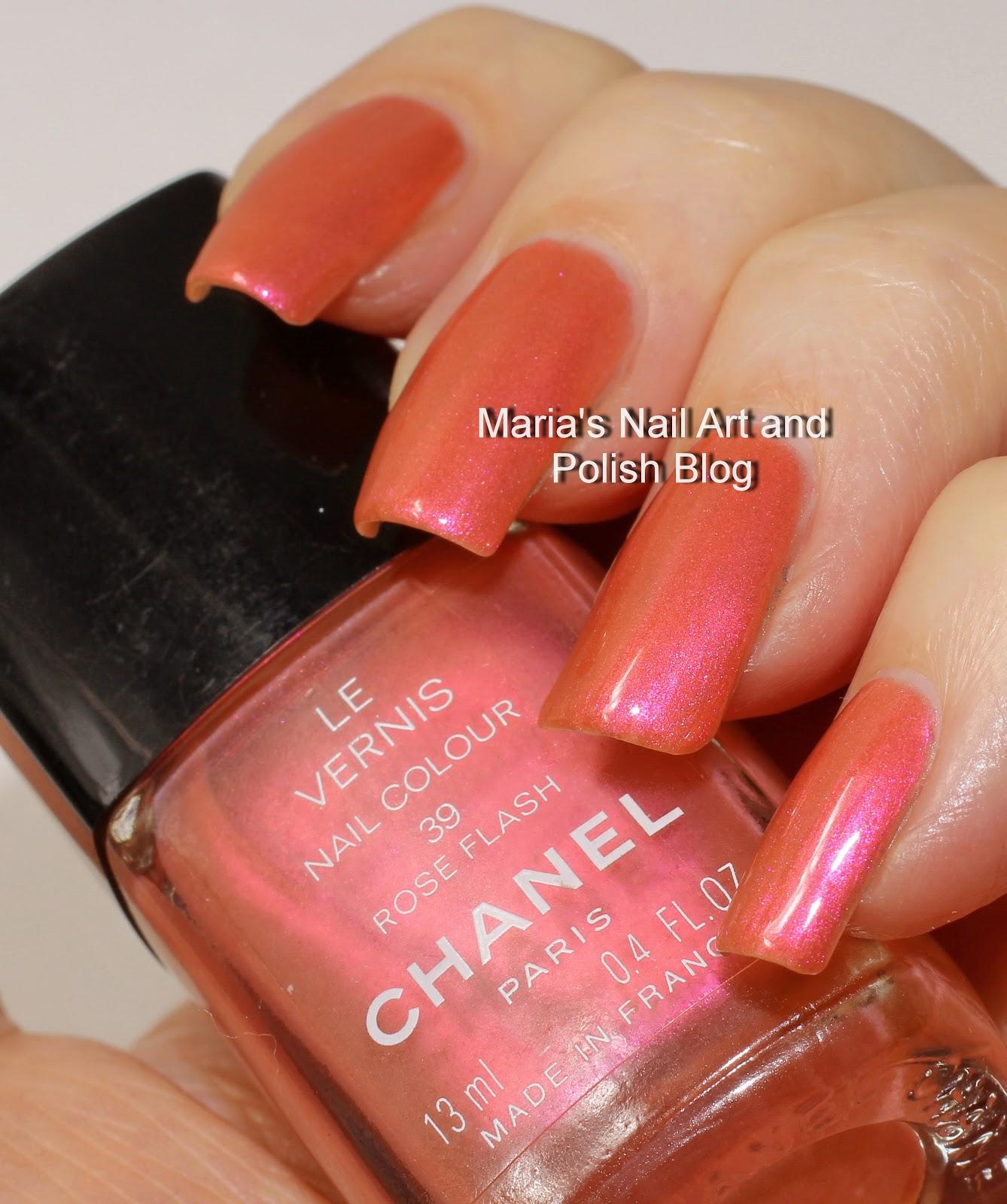 Marias nail art and polish blog chanel rose flash swatches chanel rose flash swatches vintage collaboration saturday prinsesfo Gallery