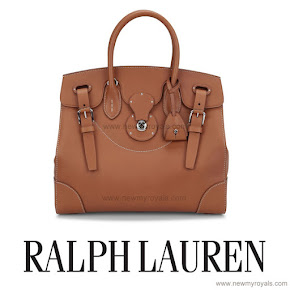 Crown Princess Mary of Denmark Style RALPH LAUREN Satchel Bag