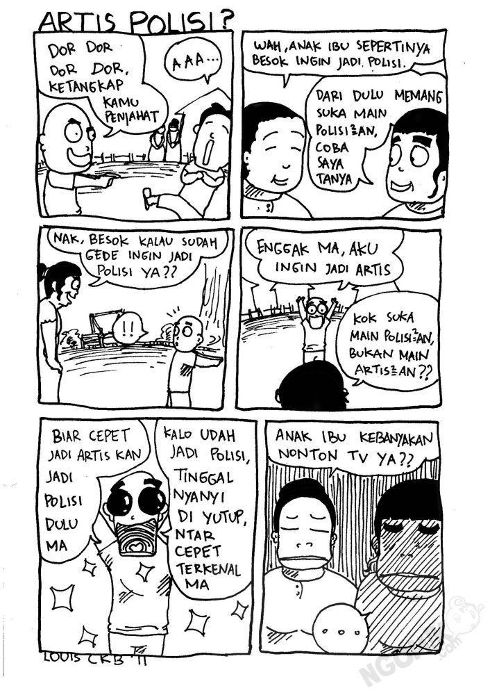 Monster Bego: Komik Super Bego & Super Lucu Karya Anak