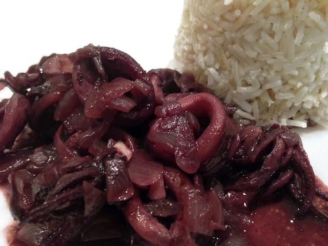 calamares con arroz