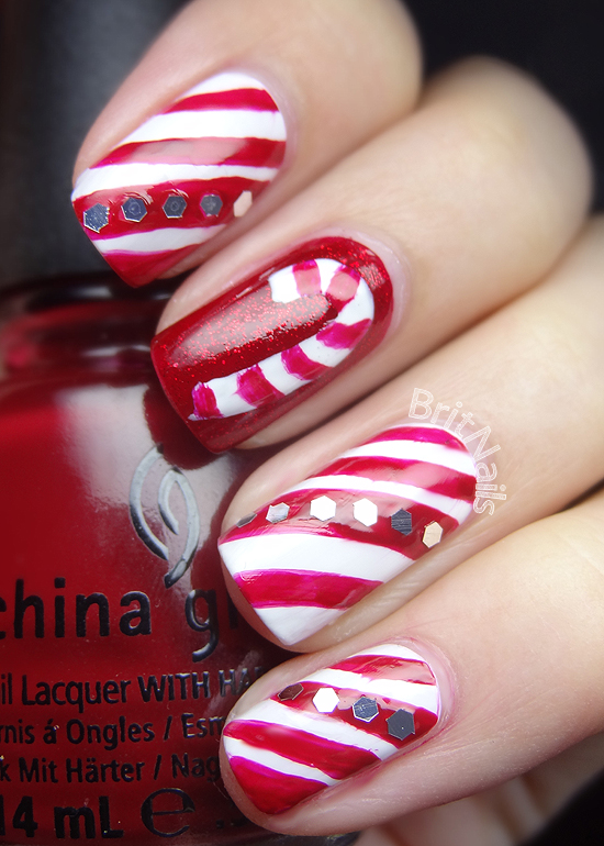 candy canes brit nails