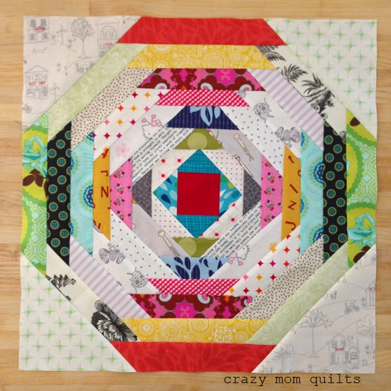 Crazy Mom Quilts How To Make A Pineapple Block Without Paper Piecing