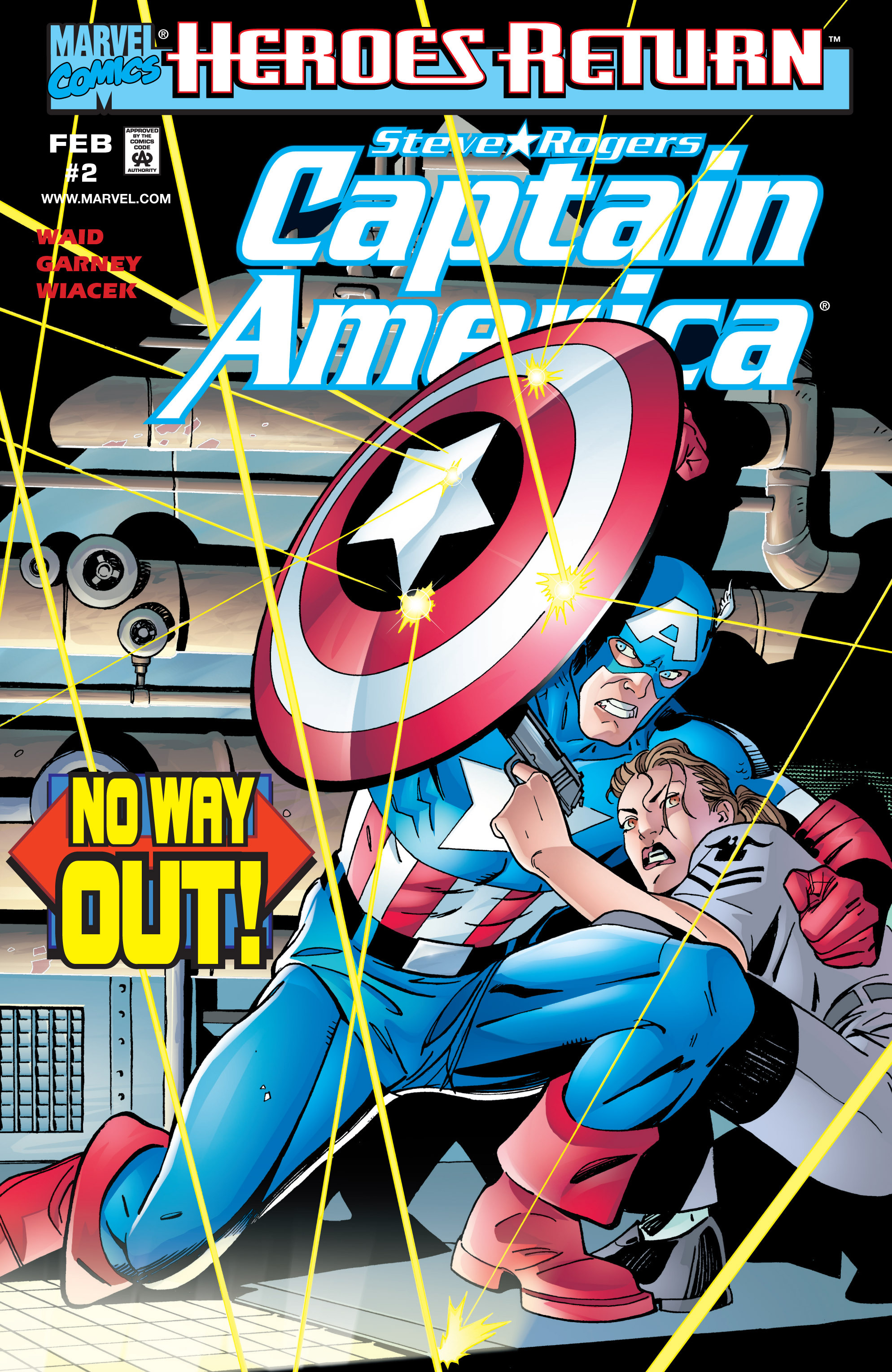 Captain America (1998) Issue #2 #5 - English 1