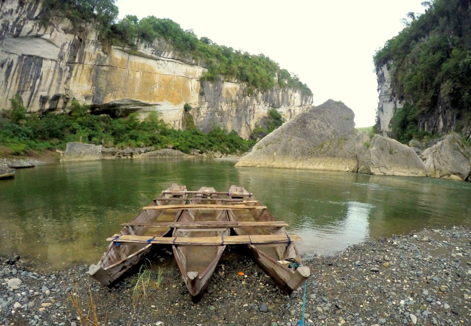 Siitan River, Rock Formation Quirino