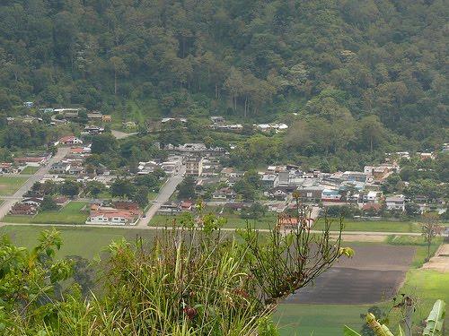 Vista del Pueblo de Caripe del Guacharo